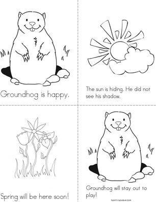 Happy Groundhog Day Book