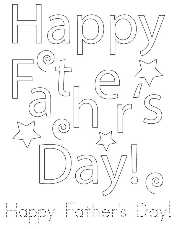 Father's Day Mini Book - Sheet 2