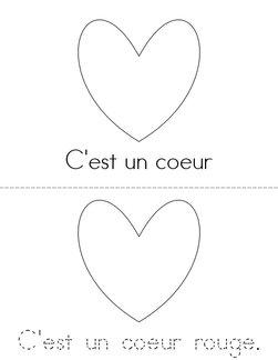 C'est un coeur. Book