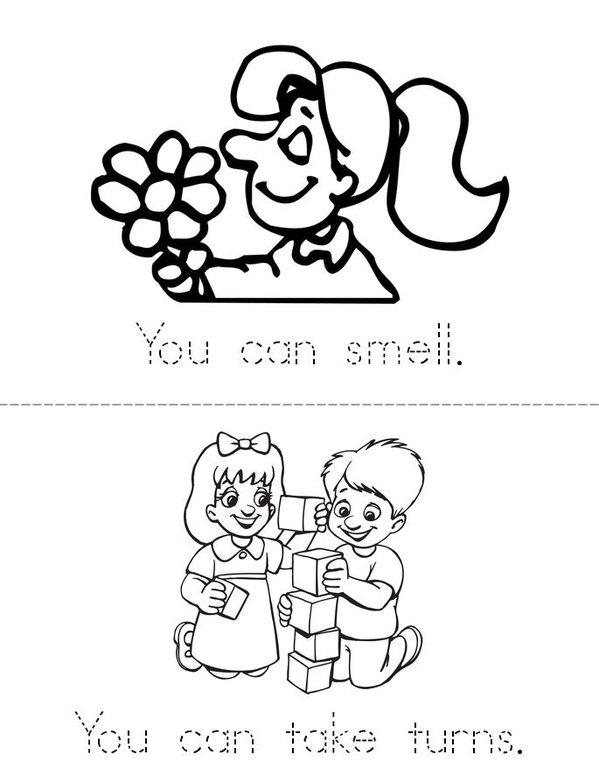 You can  Mini Book - Sheet 2