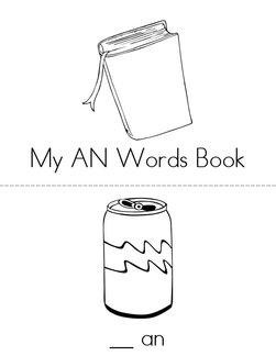 -AN Words Book
