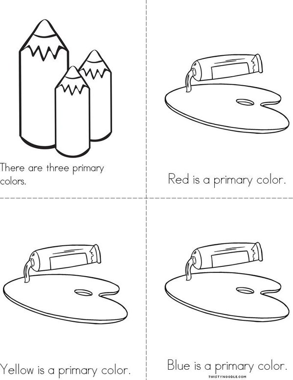 The Primary Colors Mini Book