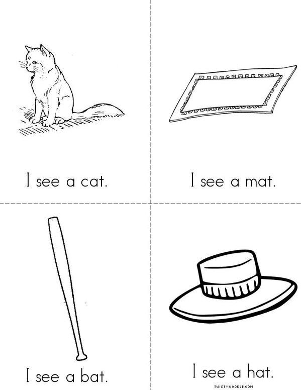 I See (AT) Mini Book