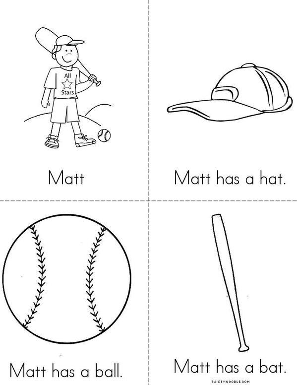 Matt Mini Book