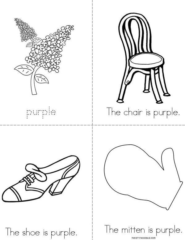 Purple Mini Book