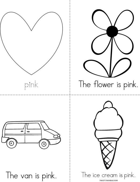 Pink Mini Book