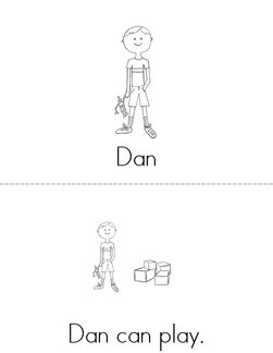 Dan and Jen Book