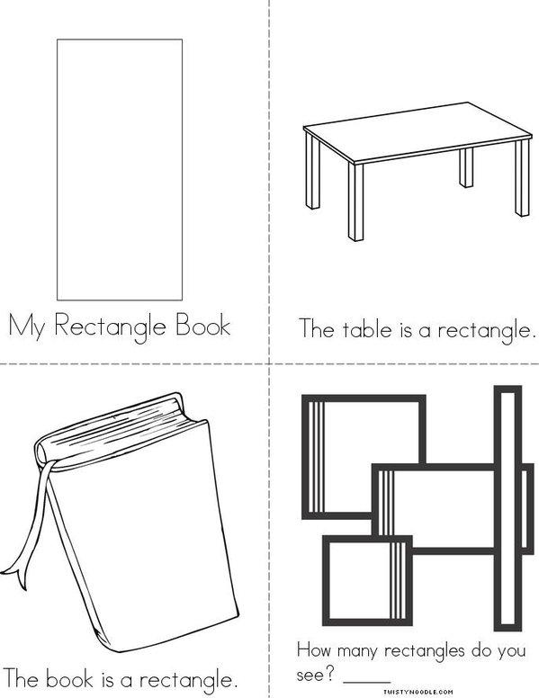 Rectangle Mini Book
