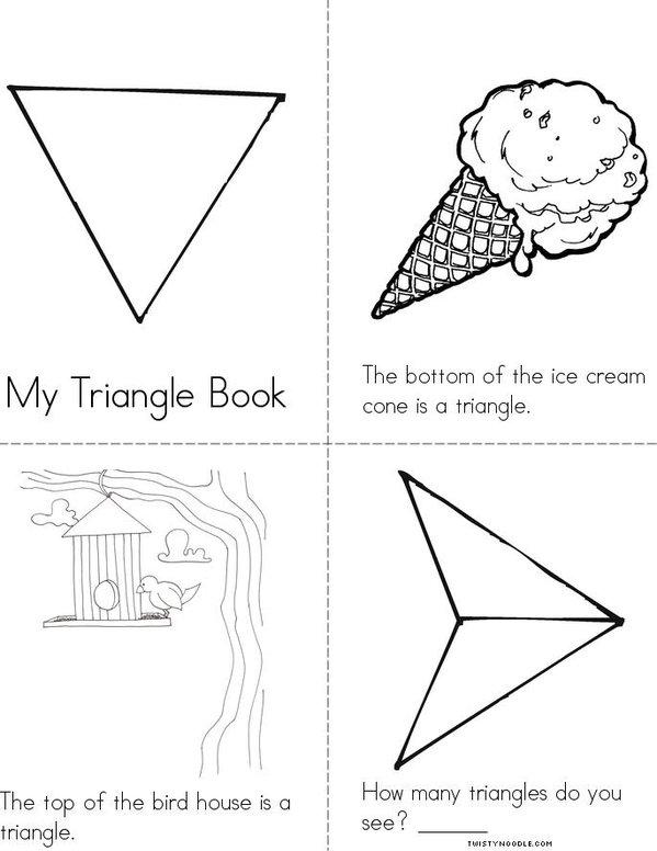 Triangle Mini Book