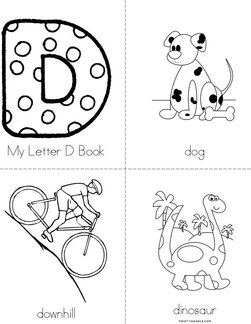 My Letter D Book