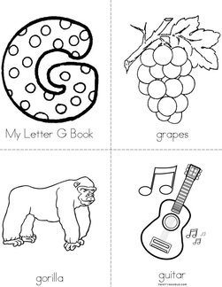 My Letter G Book