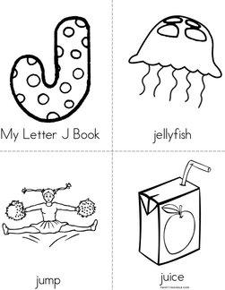 My Letter J Book