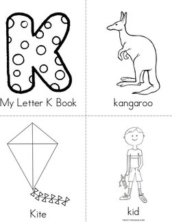 My Letter K Book