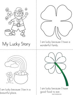 My Lucky Story Book