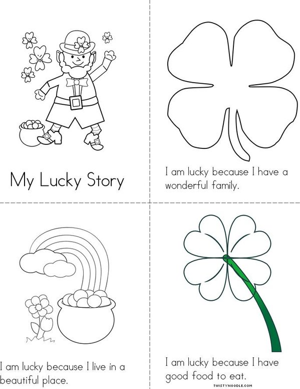 My Lucky Story Mini Book