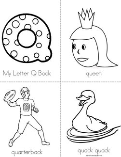 My Letter Q Book