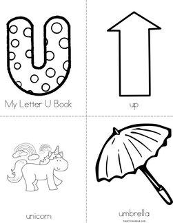 My Letter U Book
