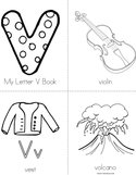 My Letter V Book