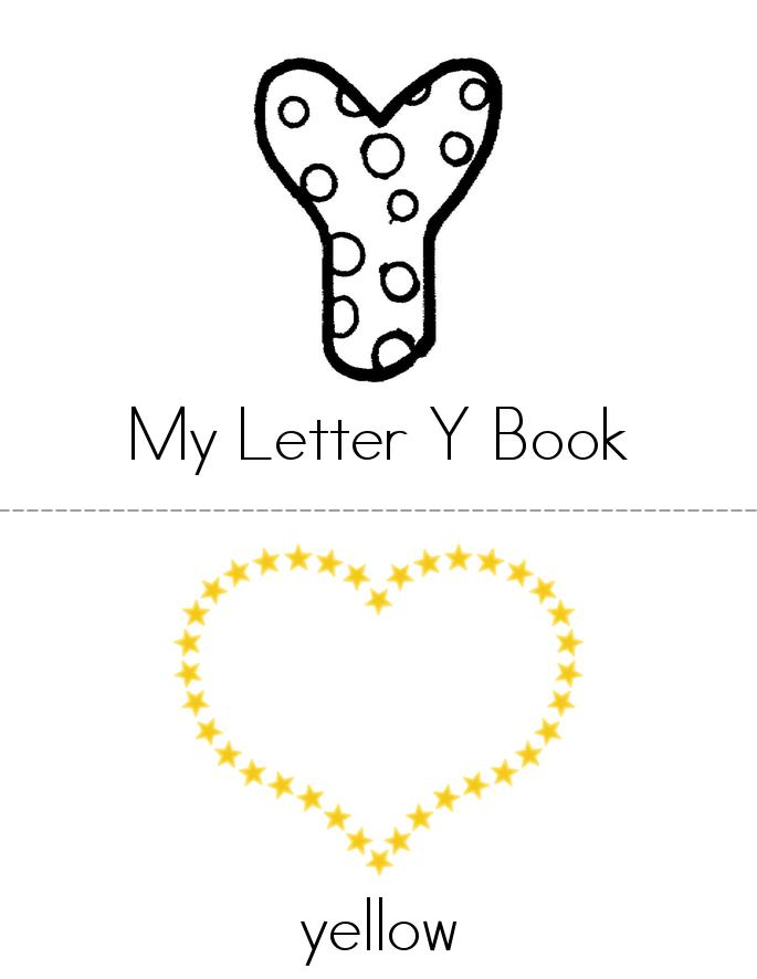 My Letter Y Book - Twisty Noodle