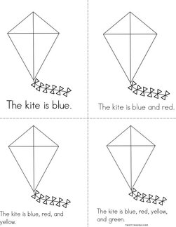 Color the Kite Book