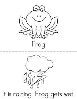 Frog and Alligator Book