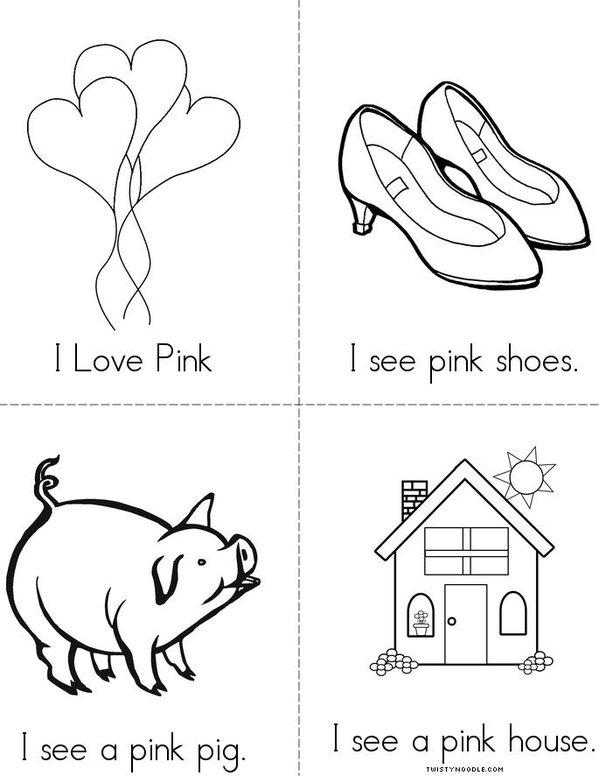I Love Pink Mini Book
