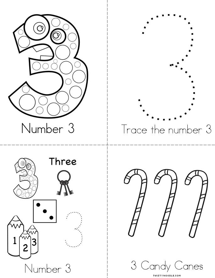 Instances of the Number 3