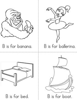 B is for banana Book