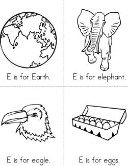 E is for Earth Book