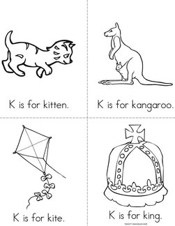 K is for kitten Book