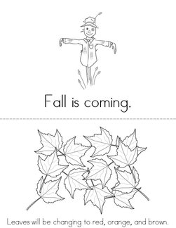 Fall is Coming Book
