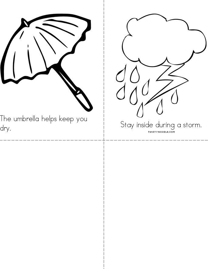Weather Book - Twisty Noodle