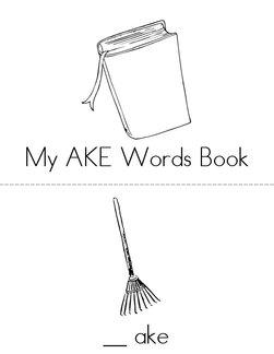 -AKE Words Book