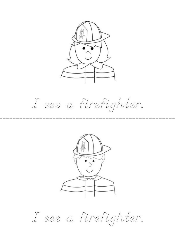 Fire Safety Mini Book - Sheet 2