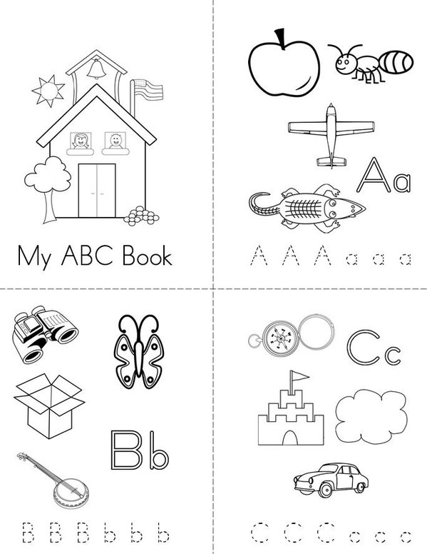 Amazing image regarding abc book printable