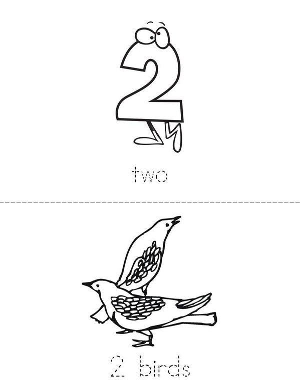 Two Mini Book - Sheet 1
