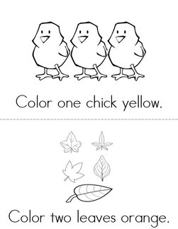 Color the pictures Book
