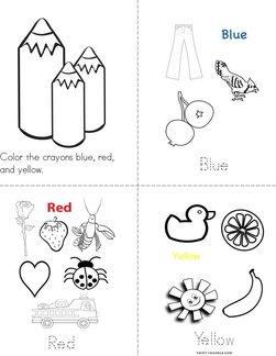 Color Beginning Readers Books - Twisty Noodle