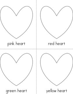 Heart Colors Book