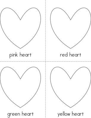 Heart Colors Book