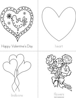 Happy Valentine's Day Book
