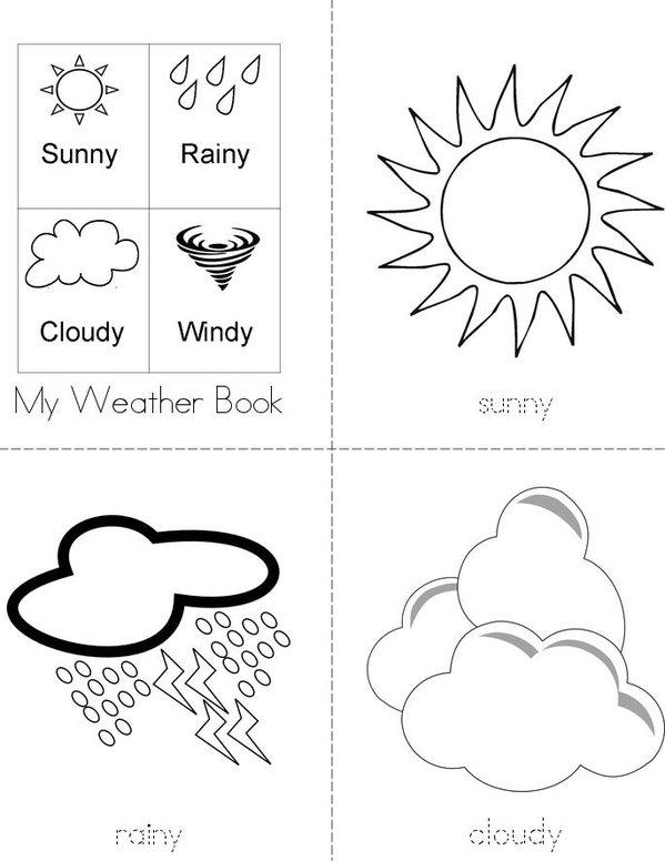 weather words book twisty noodle. Black Bedroom Furniture Sets. Home Design Ideas