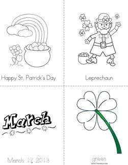 Happy St. Patrick's Day Book