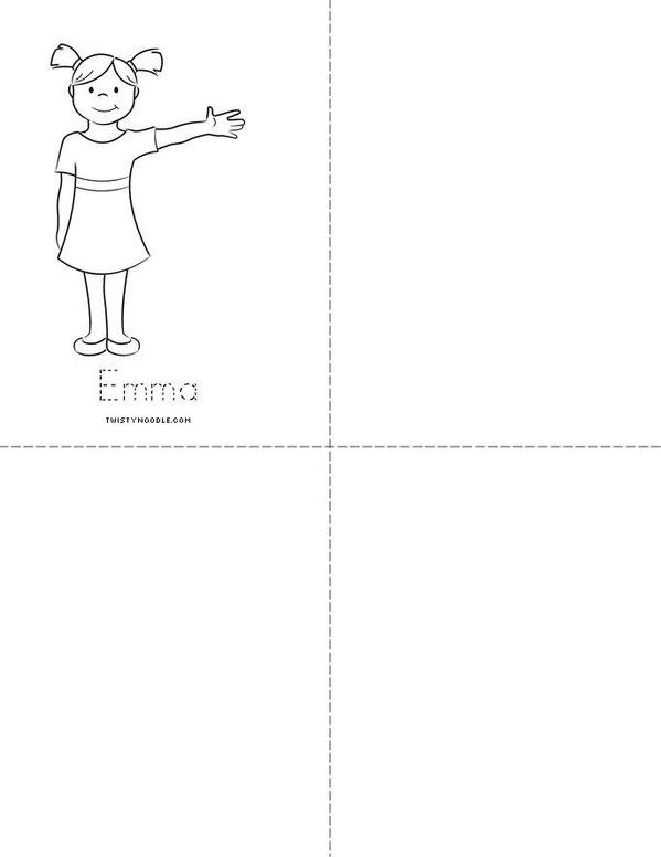 My E e Book  Mini Book - Sheet 3