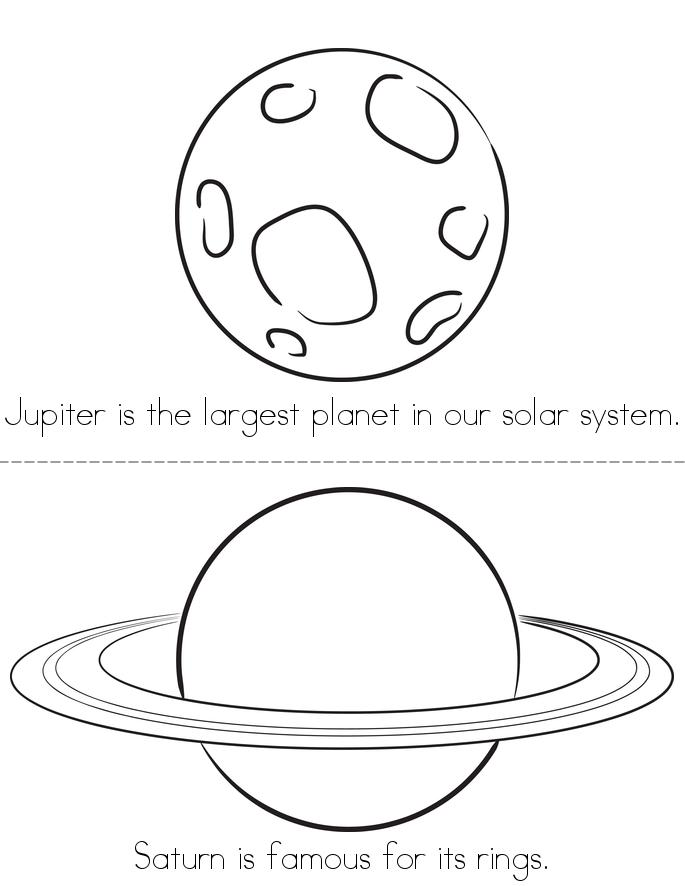 Our Solar System Book - Twisty Noodle