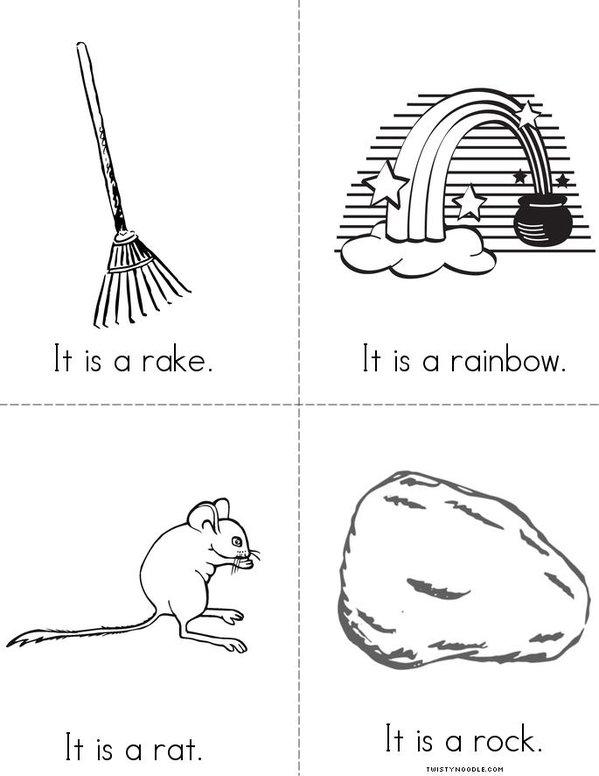 The Rr Book Mini Book - Sheet 2
