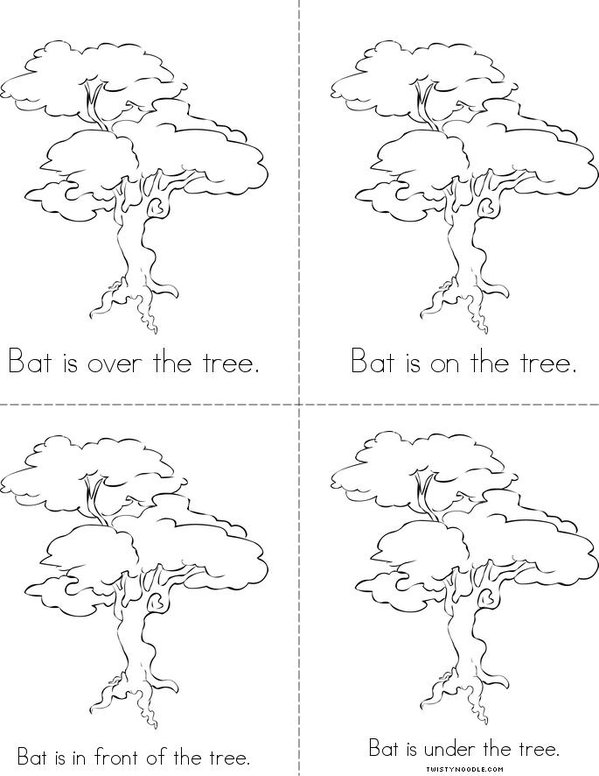 Bat, Where are You? Mini Book