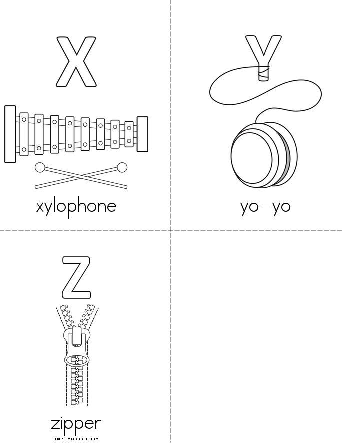Alphabet Book - Twisty Noodle