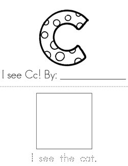 I see (letter c) Book