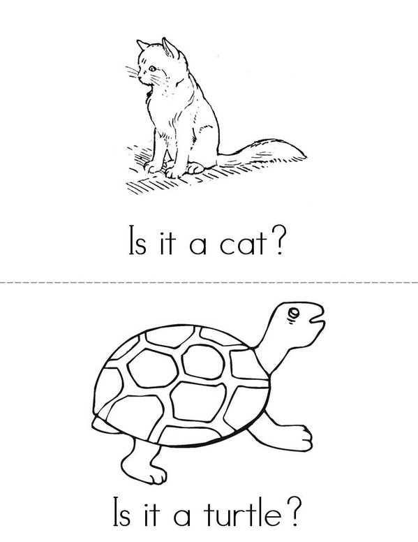 Pets Mini Book - Sheet 2